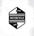custom motorcycle chopper bike vector image