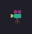 camcorder computer symbol vector image