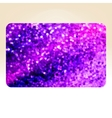 Template design on purple glittering EPS 10 vector image vector image