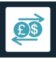 Money Exchange icon vector image