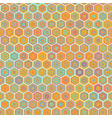 abstract colorful honeycomb seamless vector image