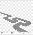 road construction element vector image vector image