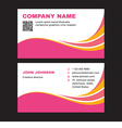 Business Visit Card vector image