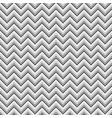 grey zigzag geometric seamless pattern vector image