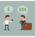 Business concept in flat style vector image