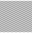 grey zigzag geometric seamless pattern vector image