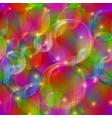 bubbles seamless motley vector image