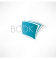 Book of Knowledge abstract icon vector image