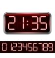 Red Digital Clock