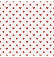 Red poker seamless pattern vector image