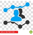 Audience Trends Eps Icon vector image