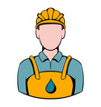 oilman icon icon cartoon vector image