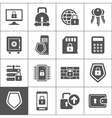 Protection an icon vector image