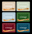 wine labels17 vector image