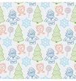 abstract seamless Christmas pattern vector image