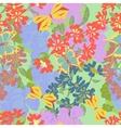 Flowers butterflies Seamless vector image