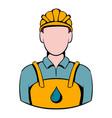 oilman icon icon cartoon vector image