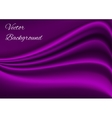 Artistic purple fabric texture background vector image