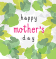 happy mother day 1 vector image