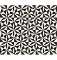 Seamless Black and White Triangle Star vector image
