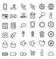 Web icons Mobile Phones vector image