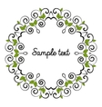 leaves decoration vector image vector image