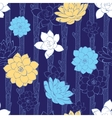 blossoming branches stripes seamless vector image