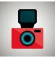 retro camera design vector image vector image