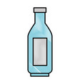 plastic bottle isolated vector image