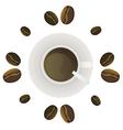 coffee2 vector image vector image
