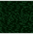 Green security background with HEX-code vector image