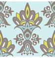 Luxury Damask flower seamless pattern background vector image