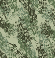 Military texture Army seamless pattern Ornament vector image
