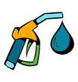 gas station gun icon icon cartoon vector image