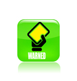 yellow tag icon vector image vector image
