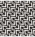 Seamless Chevron ZigZag Diagonal Lines vector image
