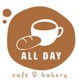 coffee logo 1 vector image