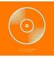 Stock Linear icon vinyl vector image