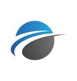 Arow Logo template vector image