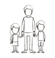 blurred silhouette caricature faceless full body vector image
