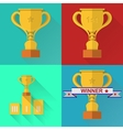 icons for competition vector image