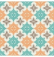 Boho style seamless pattern design vector image
