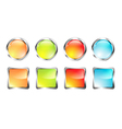 Glossy Web Button Set vector image
