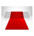 velvet Staircase2 vector image