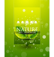 nature template vector image