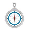 navigation compass tool vector image