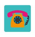 phone service button icon vector image