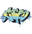 Graffito - ever vector image