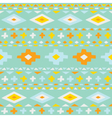 Cute ethno seamless pattern vector image