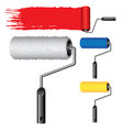 object roller paint vector image